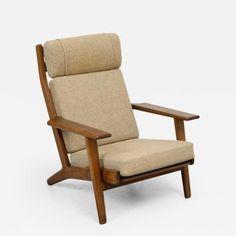 Hans Wegner Hans Wegner GE290 High Back Lounge Chair