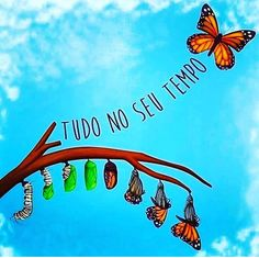 🦋🦋🦋🦋 by Aguiar B. Poster S, New Years Eve Party, Happy Thoughts, Inner Peace, Happy Day, Positive Vibes, Inspirational Quotes, Positivity, Neon Signs