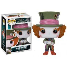 Figurine Alice in Wonderland - Mad Hatter Pop 10cm - Oyoo