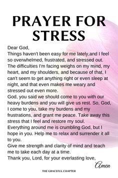Prayer Times, Prayer Scriptures, Bible Prayers, Faith Prayer, Prayer Quotes, Good Prayers, Prayers For Strength, Prayers For Healing, Prayer For Stress
