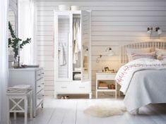 Acrescente um toque de serenidade à arrumação do seu quarto
