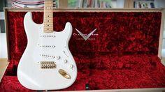 Fender Custom Shop Mary Kaye Tribute Stratocaster Closet Classic Fender Custom Shop, Curves, Mary, Cool Stuff, Classic, Closet, House, Shopping, Ideas