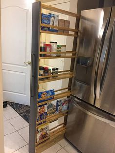 Items similar to Hand-made pull-out pantry, Furniture for kitchen, bathroom, Solid wood, Customize on Etsy – Kitchen Furniture Storage Kitchen Pantry Design, Kitchen Pantry Cabinets, Diy Kitchen Storage, Kitchen Styling, Interior Design Kitchen, Door Storage, Kitchen Furniture, Kitchen Decor, Furniture Stores