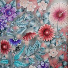 by karinecalabra - Johanna Basford Colouring Gallery Johanna Basford