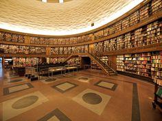 Stockholm Public Library, interior