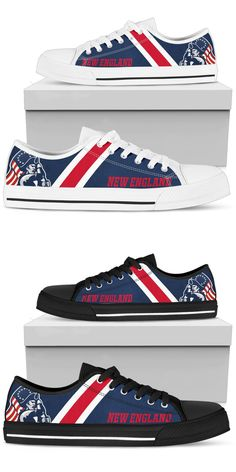 e0f7e76aed81f 9 Best New England Patriots Shoes images in 2019