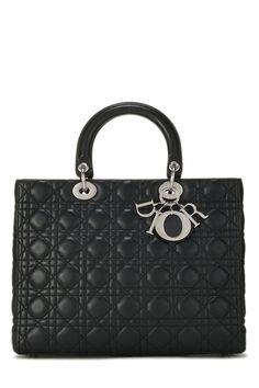 Dior Handbags, Large Handbags, Handbags On Sale, Dior Bags, Lady Dior, Vintage Dior Bag, Christian Dior Vintage, Lambskin Leather, Pink