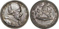 """NumisBids: Numismatica Varesi s.a.s. Auction 65, Lot 869 : CLEMENTE IX (1667-1669) Med. 1667 """"Elezione al Pontificato"""" ..."""