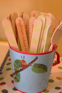 The Very Hungry Caterpillar, by Eric Carle Birthday Party Ideas | Photo 22 of 27 | Catch My Party