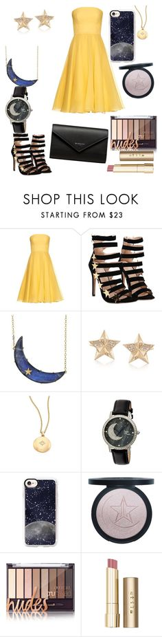 """""""moon and stars"""" by bunny05 on Polyvore featuring beauty, Alexander McQueen, Andrea Fohrman, Ross-Simons, Astley Clarke, Sophie and Freda, Casetify, Stila and Balenciaga"""