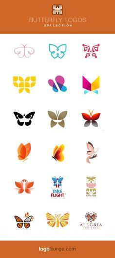 Logo Collection : Butterflies