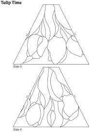 Resultado de imagen para stained glass lamp pattern