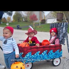 @Mandi Osborn this would be so cute for Halloween this year. Peter Pan theme cousin Halloween!