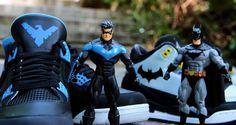 "Air Jordan 4 ""Nightwing"" Custom by Ecentrik Artistry"