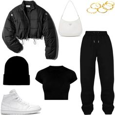Girls Fashion Clothes, Teen Fashion Outfits, Mode Outfits, Retro Outfits, Outfits For Teens, Baddie Outfits Casual, Cute Swag Outfits, Cute Comfy Outfits, Stylish Outfits