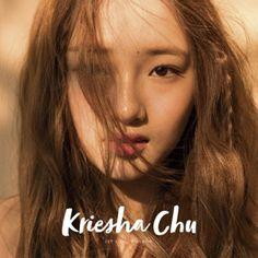 Kriesha Chu 1st Single Album K-POP CD + Photobook Sealed Feat. YONG JUNHYEONG #Pop Album Songs, Cute Images, Black Heart, Korean Women, Photo Book, Kpop Girls, Album Covers, Asian Beauty, Asian Girl