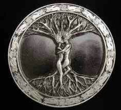 Celtic lover's tree of life; this design is on my thigh