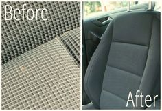 DIY Car Upholstery Cleaner ~ Creative Savings