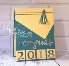 Debbie's Designs: Congrats Graduation Card! Debbie Henderson #stampinup #debbiehenderson #debbiesdesigns #graduation
