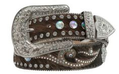 Nocona Women's Rhinestone Western Belt N3483602   Cavender's I actually bought this belt yesterday at the Wilco sale.