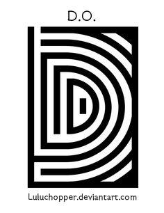 EXO Overdose - D.O's Logo