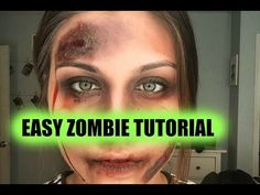 You know it means the world to me when you guys share your positive vibes! HUGE shout out to my broth. Zombie Face Makeup, Zombie Halloween Makeup, Zombie Party, Scary Makeup, Simple Zombie Makeup, Halloween Dorm, Halloween Costumes, Halloween Ideas, Halloween Party
