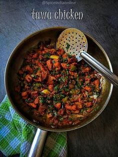 Tawa Chicken - I am a big fan of rottu kadai (highway eateries) foods be it veg or non-veg crave them and make it a point to try a few different . Chicken Snacks, Chicken Recepies, Indian Chicken Recipes, Spicy Chicken Recipes, Easy Indian Recipes, Veg Recipes, Curry Recipes, Cooking Recipes, Recipies