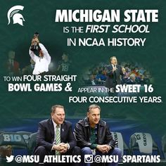 MSU Greatness! GO GREEN