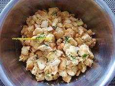Raspberrybrunette: Karlovarský knedlík Potato Salad, Cauliflower, Potatoes, Vegetables, Ethnic Recipes, Food, Cauliflowers, Potato, Essen
