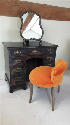 Our Charlie stool is great as a small dressing table and highly versatile for a range of interiors and rooms.