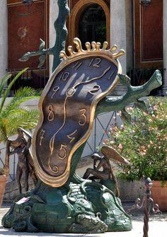"""""""The Clock"""" - Salvador Dali"""