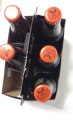 Paquetes de cervezas, ¿qué fracción del paquete se han tomado?