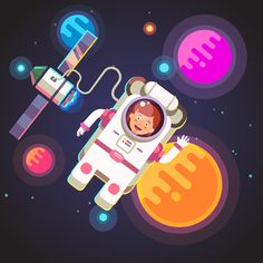 Young Space Explorers on Behance