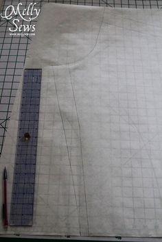 d0c695b5db Draft a Pajama Pattern with Melly Sews Pajama Pattern