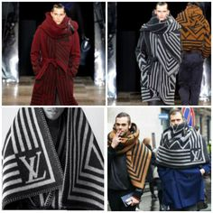 Basotho blankets are fast becoming a fashion trend. In ELLE Decoration's latest Country Issue they. African Textiles, African Fabric, Louis Vuitton Men Shoes, Winter Outfits, Casual Outfits, Civil War Fashion, Knitted Cape, Looks Cool, Asian Fashion