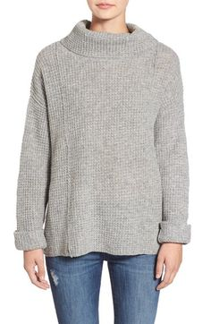 Free People 'Sidewinder' Wool Pullover available at #Nordstrom