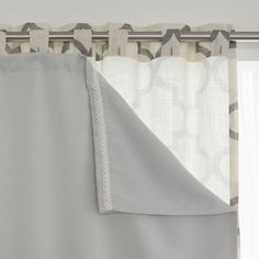 Aurora Home Blackout Curtain Liner Panel (Set of 2) | Overstock.com Shopping - The Best Deals on Curtains