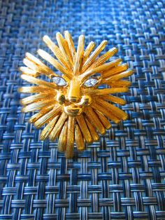 Golden Lion Ring // Adjustable// Made in USA// by shopJacie