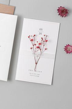 Mayiflower Wedding Invitation (Classic) – Famous Last Words Flower Invitation, Invitation Card Design, Wedding Invitation Design, Wedding Stationary, Chinese Wedding Invitation, Invitation Wording, Wedding Card Design, Wedding Designs, Wedding Cards