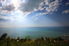 Lake Balaton is indeed big. About 177km (110 miles) long and with a cycle path network around it more than 200km (124 miles) long. The total surface area is greater than 600km2. (148,000 acres) In terms of American Lakes it is dwarfed by the Great Lakes of course, but is respectably larger than Lake Champlain, (smaller than Lake Pontchartrain). Interestingly enough it is very shallow - only 12m (39 feet) deep at the deepest depths, so it is great for small children.