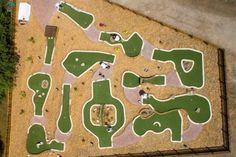 Crazy Golf, Miniature Golf, Putt Putt, Golf Courses, Backyard, Mom, Outdoor Decor, Patio, Backyards