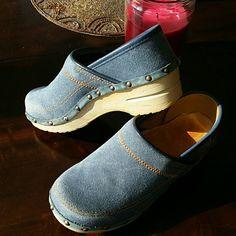 Dansko Denims New Denim Danskos Dansko Shoes Mules & Clogs