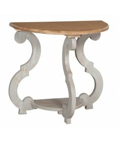 """description"""" content=""""Beautiful cottage and French country furniture and decor. Find the best selection of hand painted tables, chests, headboards, buffets, and more. Doll Furniture, Accent Furniture, Furniture Decor, Painted Furniture, Shabby Chic Side Table, Demilune Table, French Country Furniture, White Side Tables, Diy Chair"""