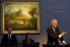 Sotheby's London Old Master and British Painting Evening Sale soars over estimate to realise $117.1M. George Stubbs' Tygers at Play sold for $13 million+. 7/9/14