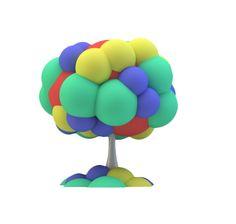 Mushroom Lamp Design by h220430