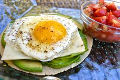 sunny side up egg and herb garden pesto i like huevo see more miguel ...