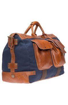 5e87397276 Will Leather Goods Traveler Duffel Bag