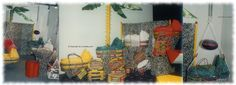 Mit neuen Körben 1995 auf der Kind und Jugend, Köln