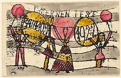 Paul Klee German, born Switzerland 1879-1940, Festival of the Lanterns, Bauhaus