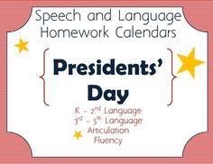 Speech Homework Is A Breeze With ThemeBased Monthly Speech And
